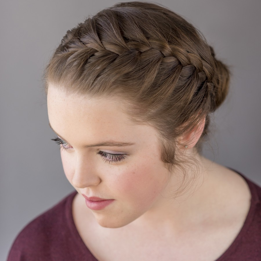 Low Bun, Meet The Braided Headband